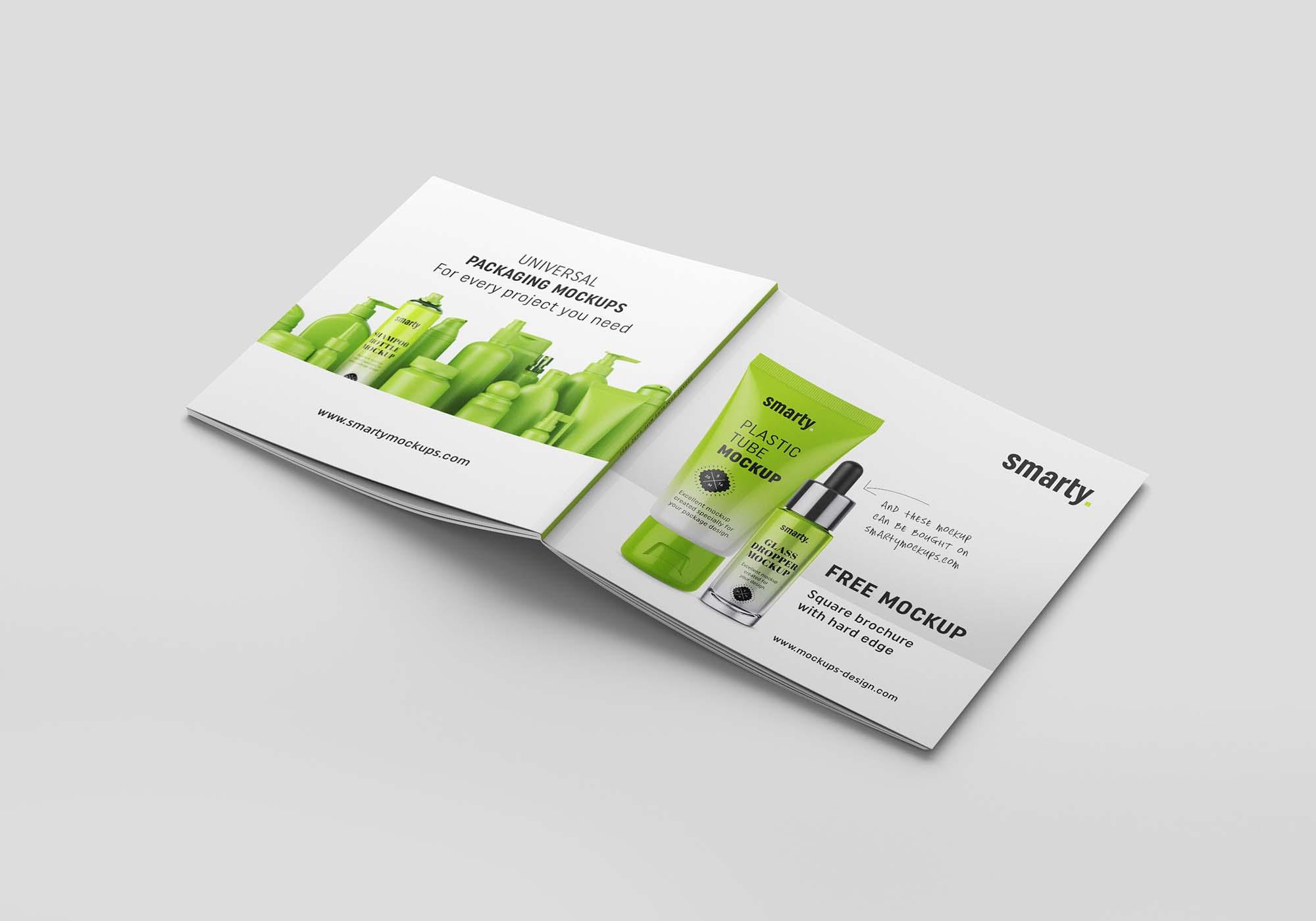 Square Brochure Mockup 1