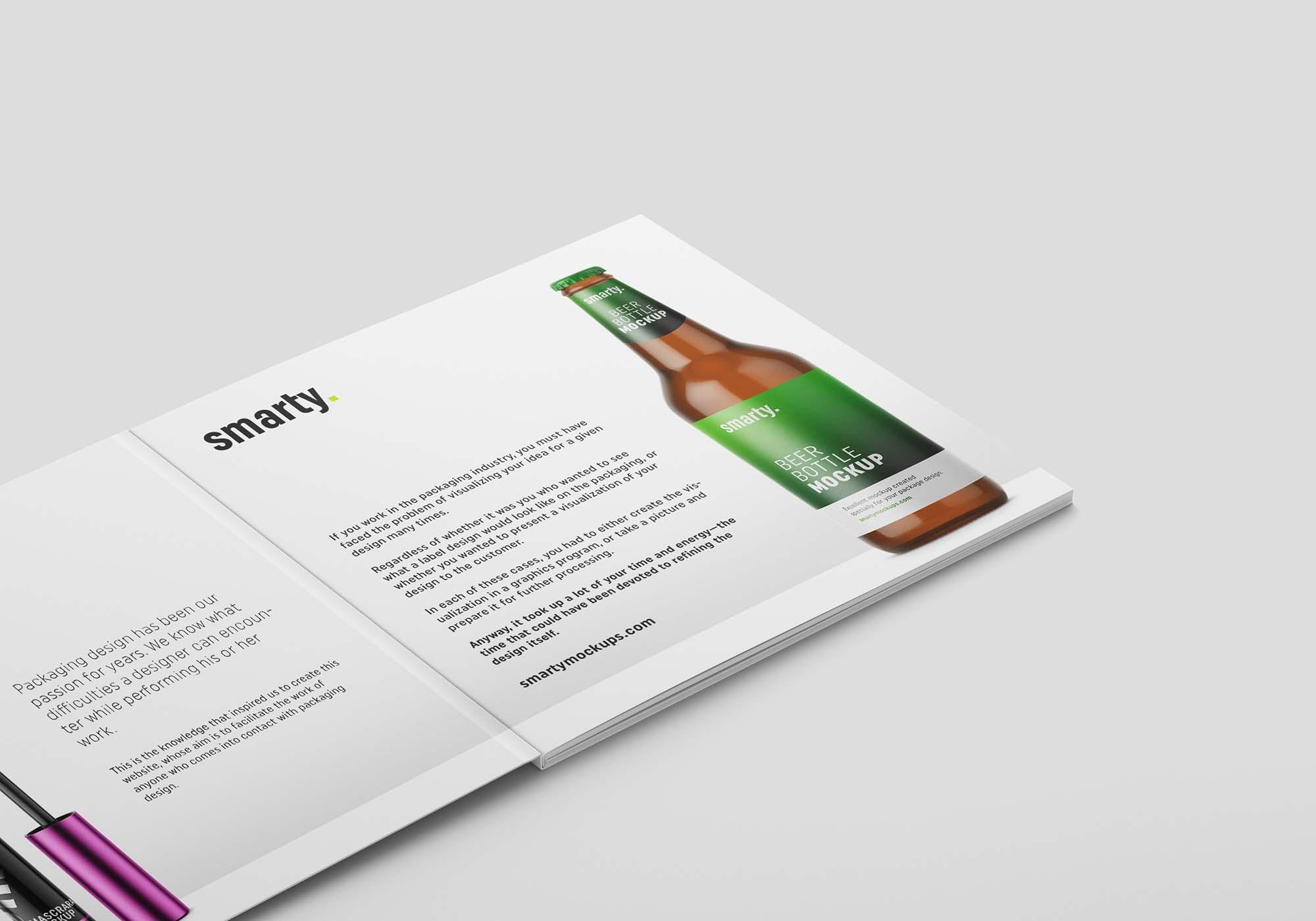 Square Brochure Mockup 6