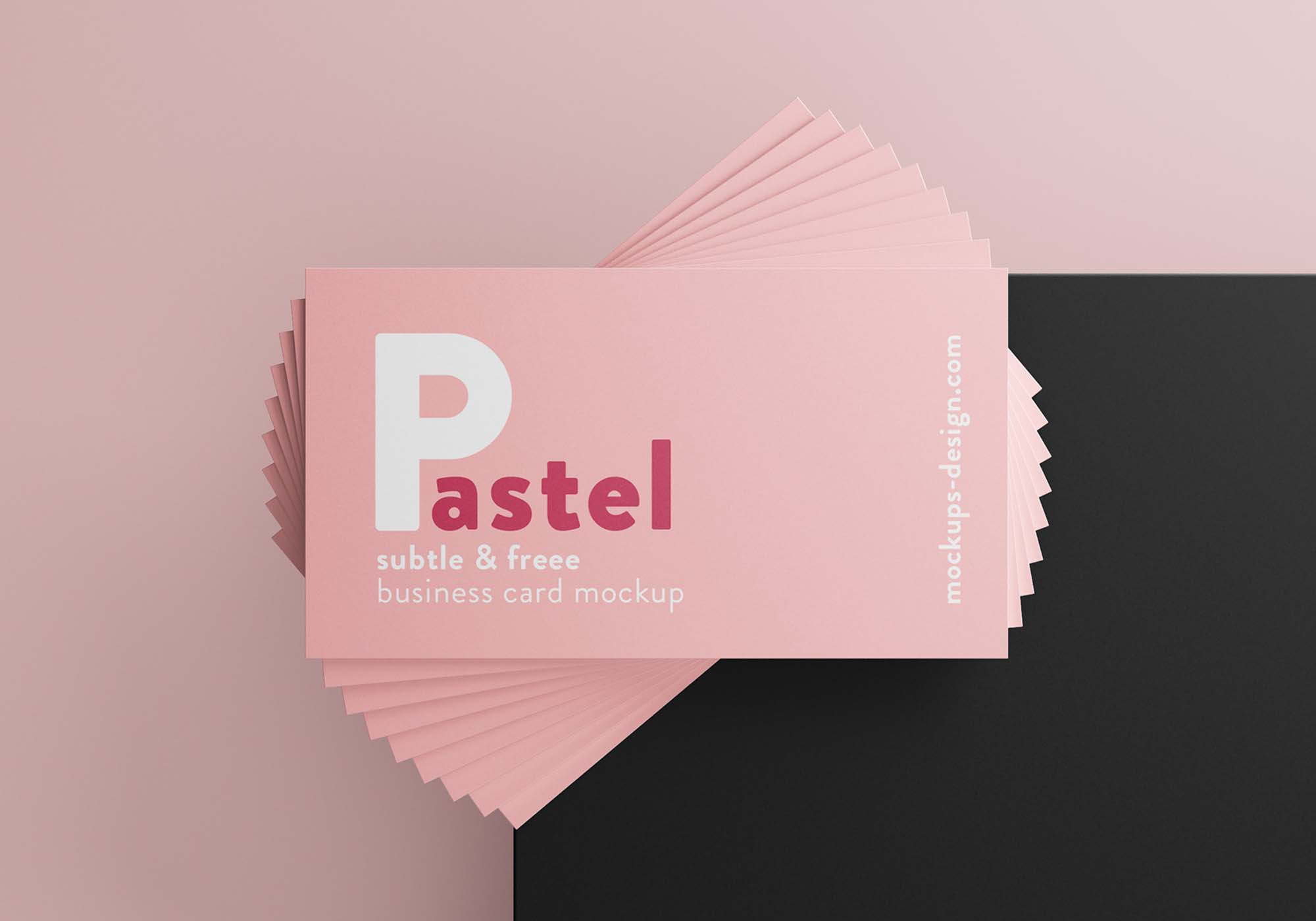 Business Cards Mockup 2