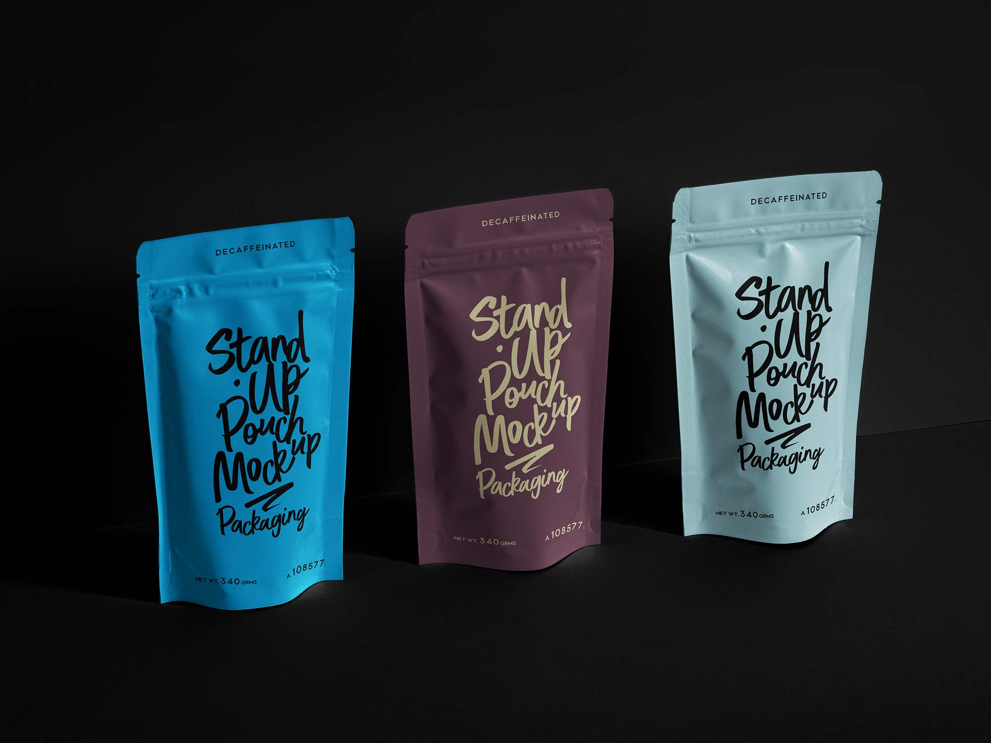 Stand-Up Pouch Mockup 2