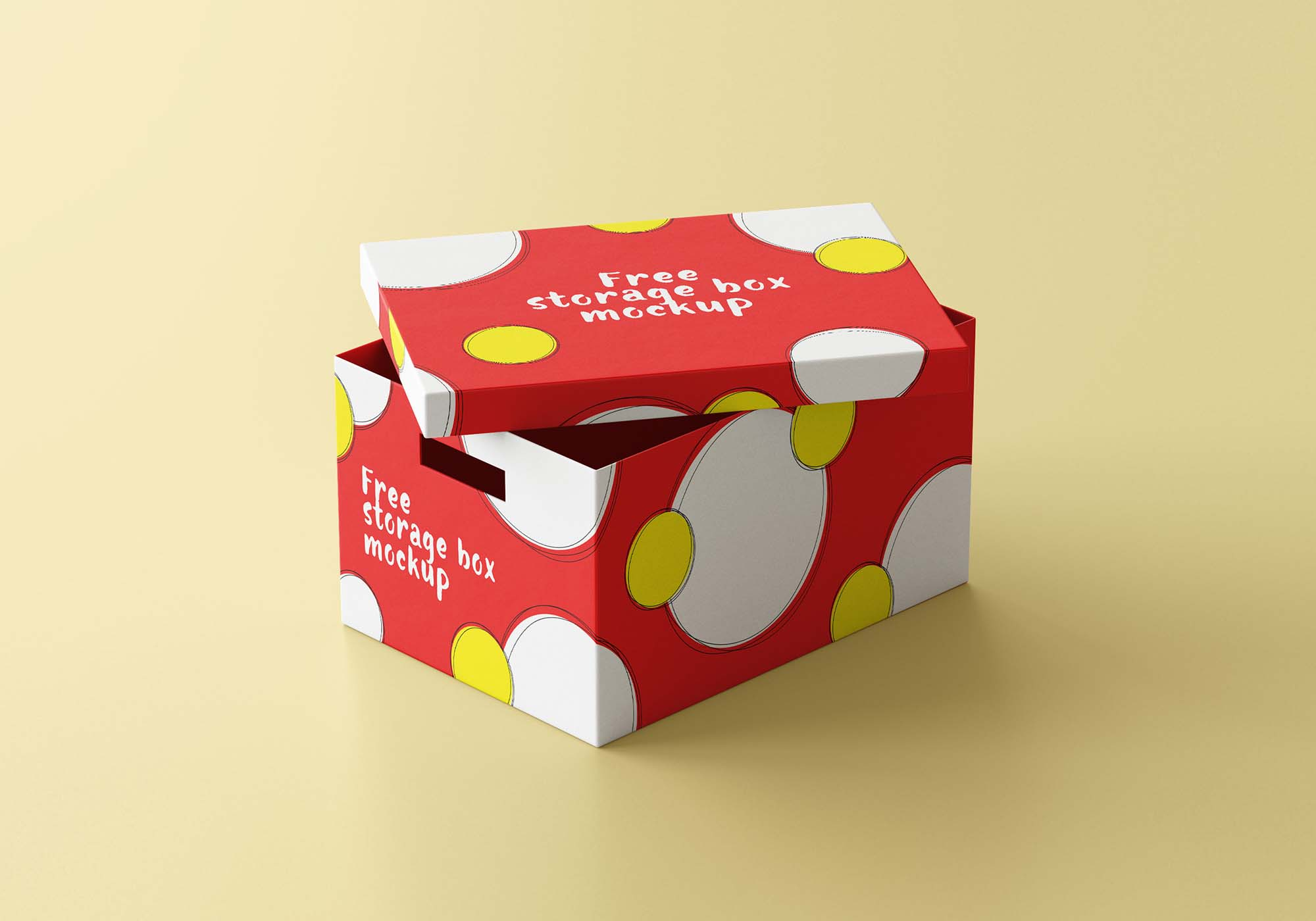 Storage Box Mockup 2