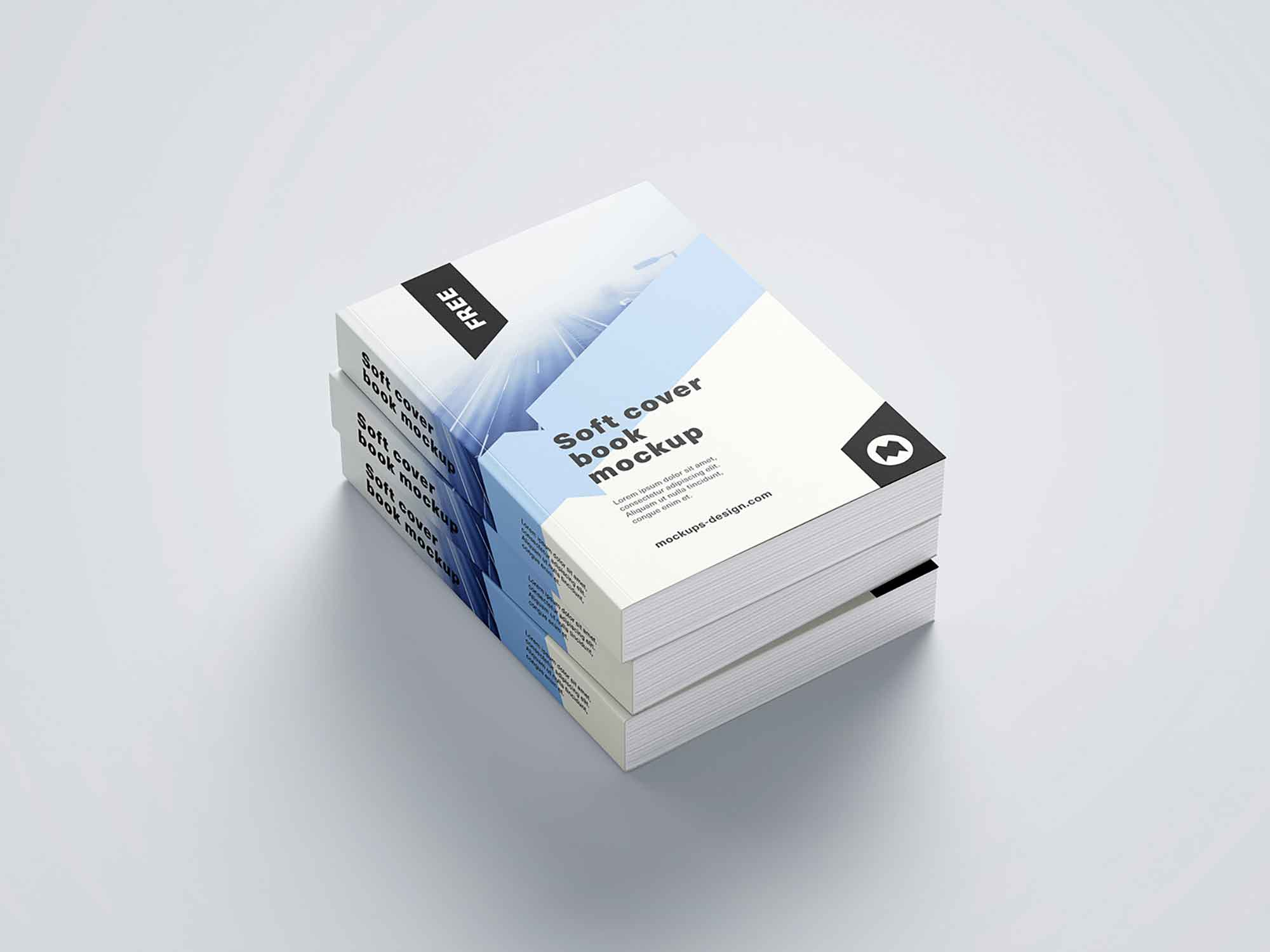 Thick Softcover Book Mockup 10