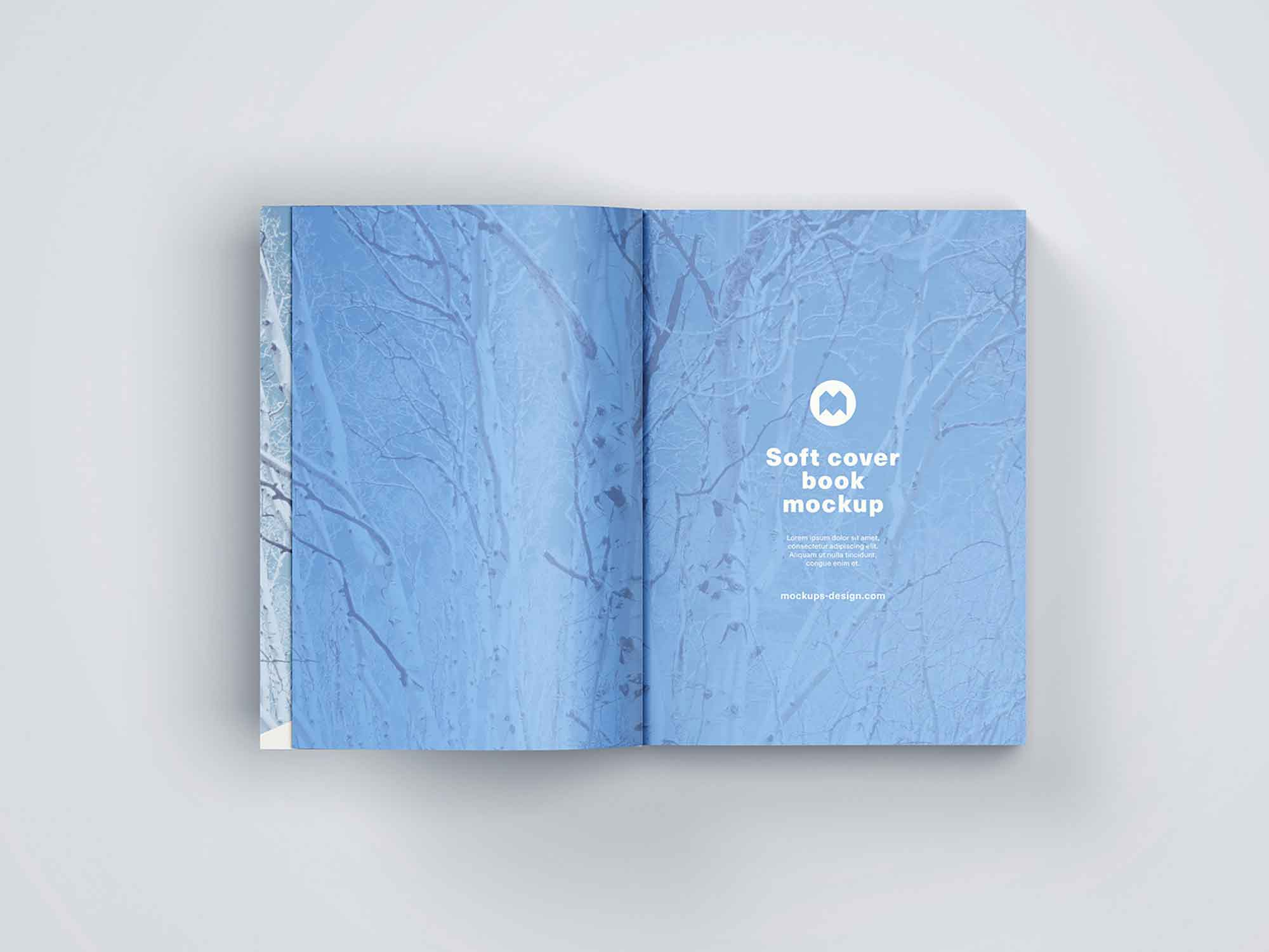 Thick Softcover Book Mockup 7