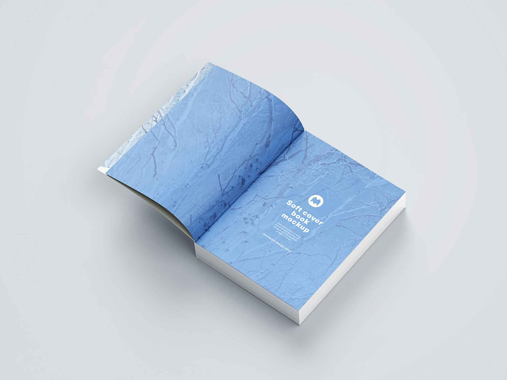 Thick Softcover Book Mockup 8