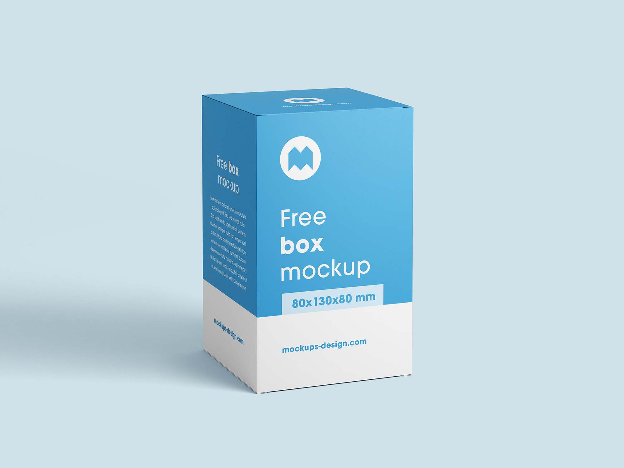Vertical Box Mockup 2