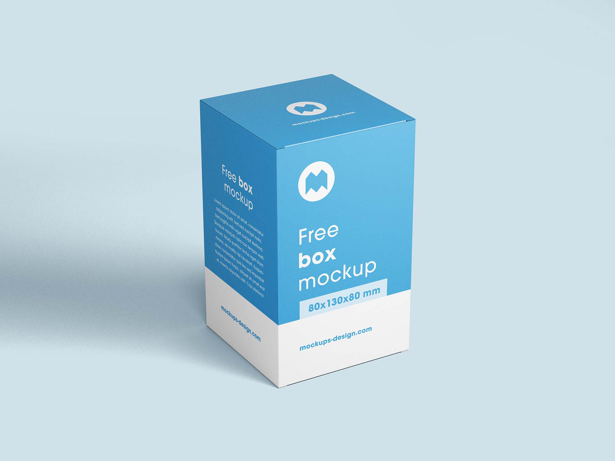 Vertical Box Mockup 3