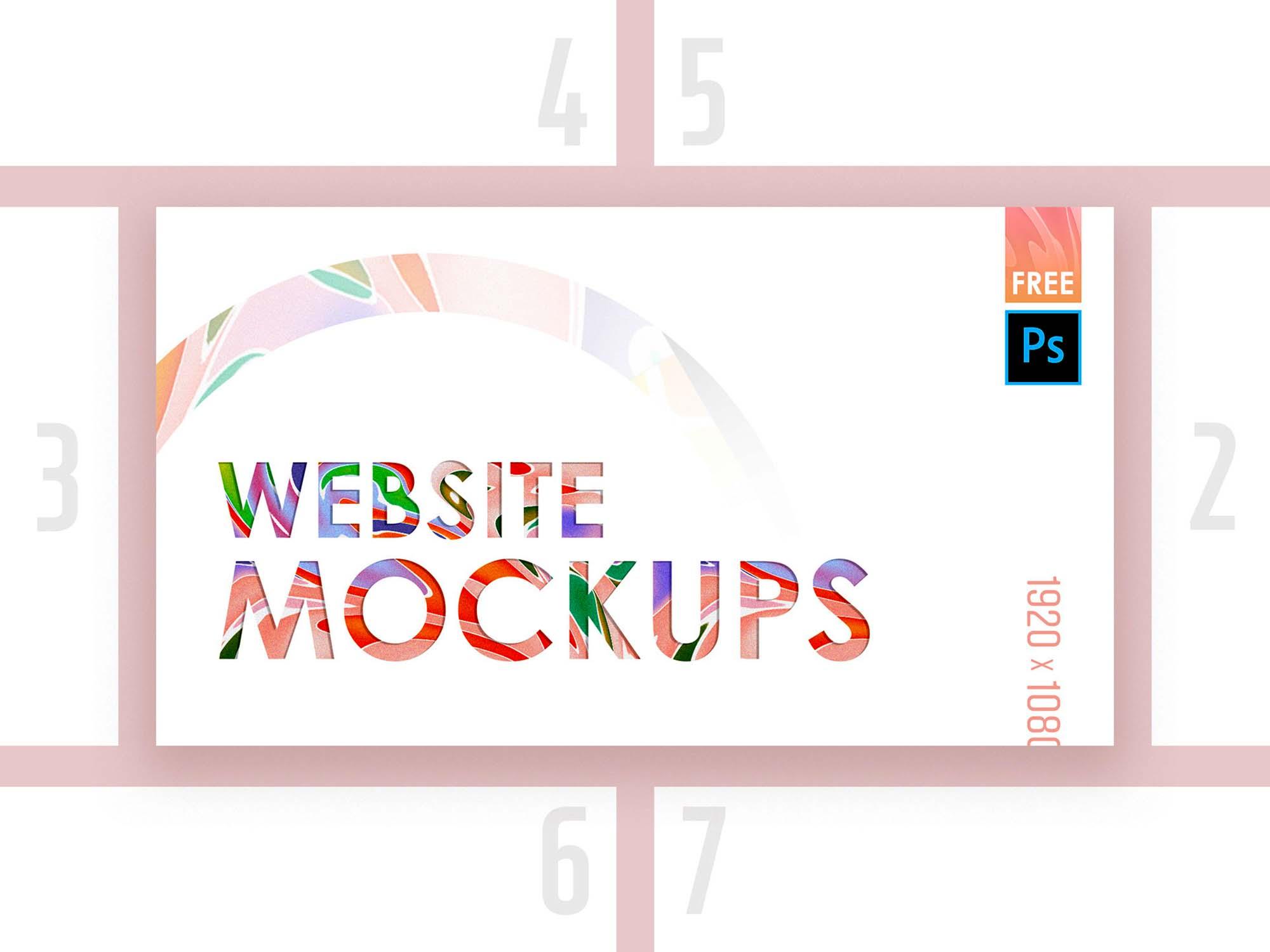 Web Mockup 10