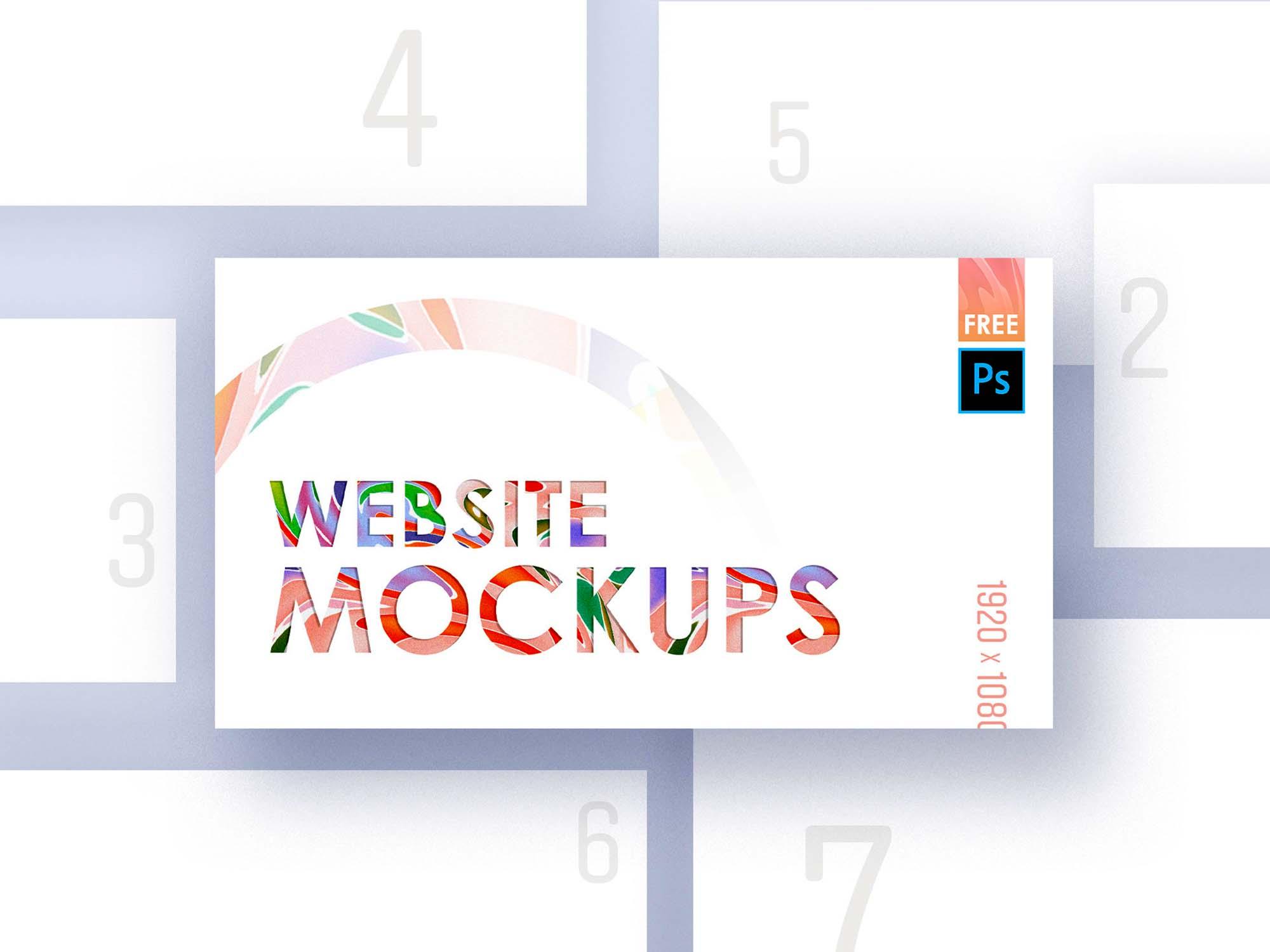 Web Mockup 4