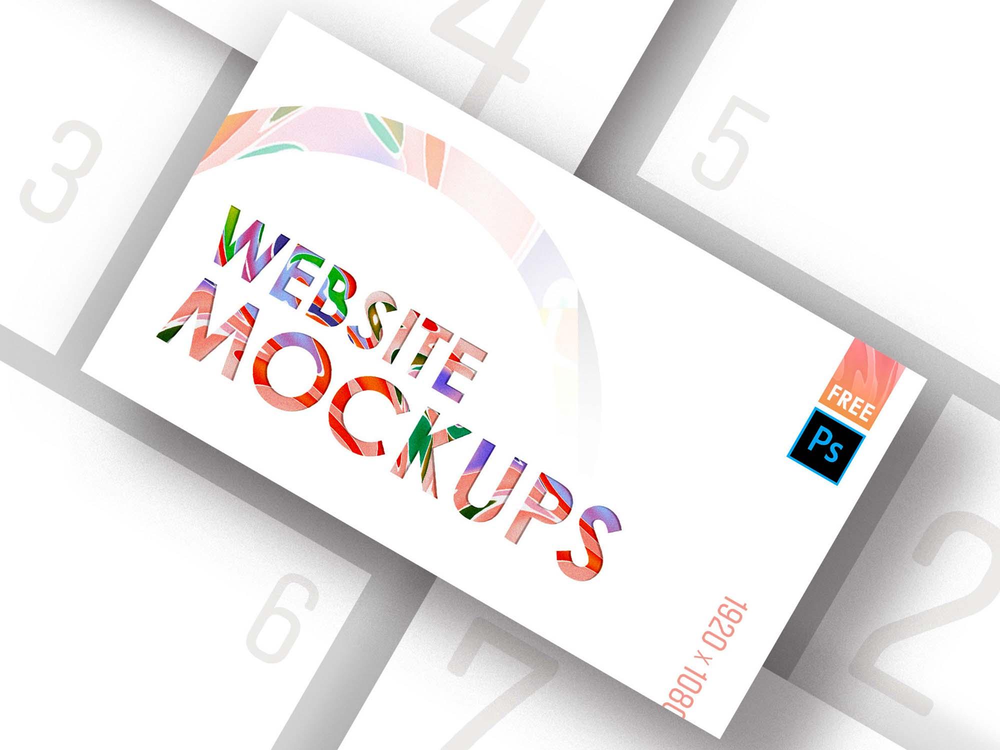 Web Mockup 5