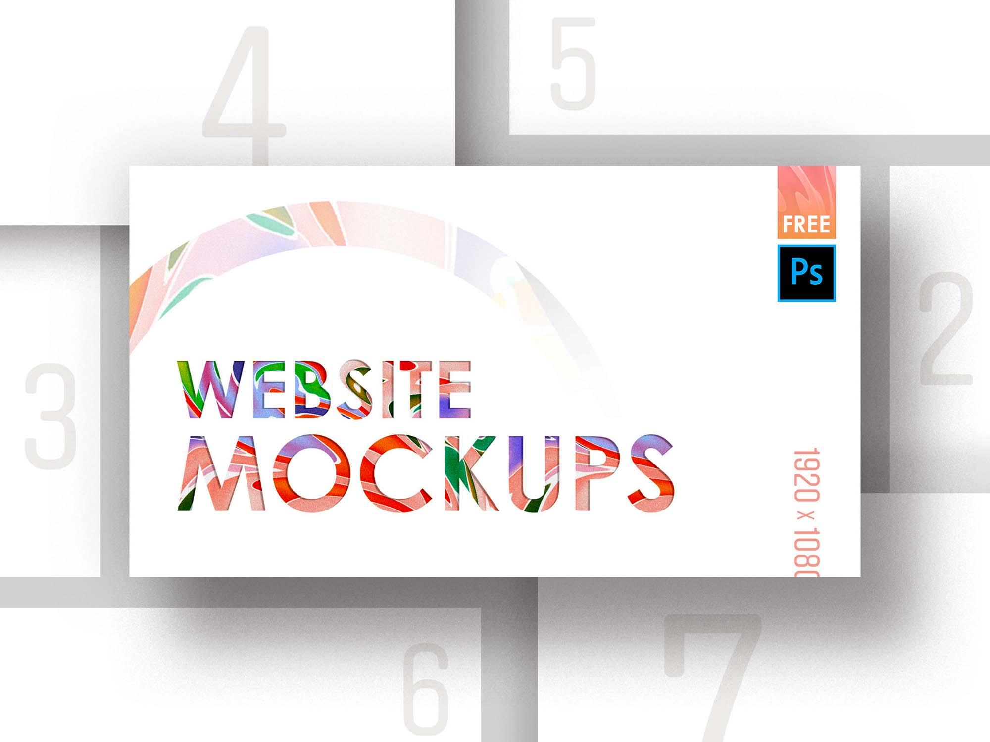 Web Mockup 7