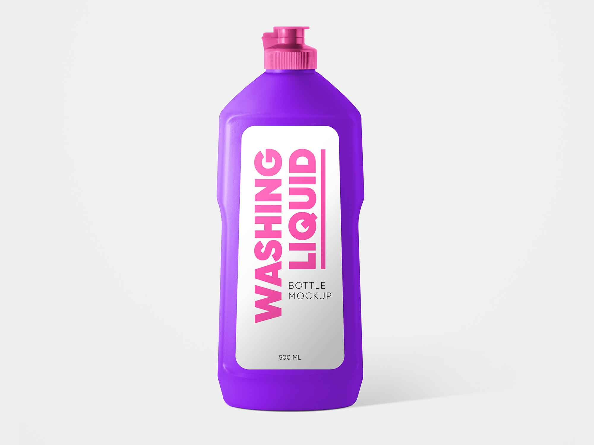 Washing Liquid Bottle Mockup 2