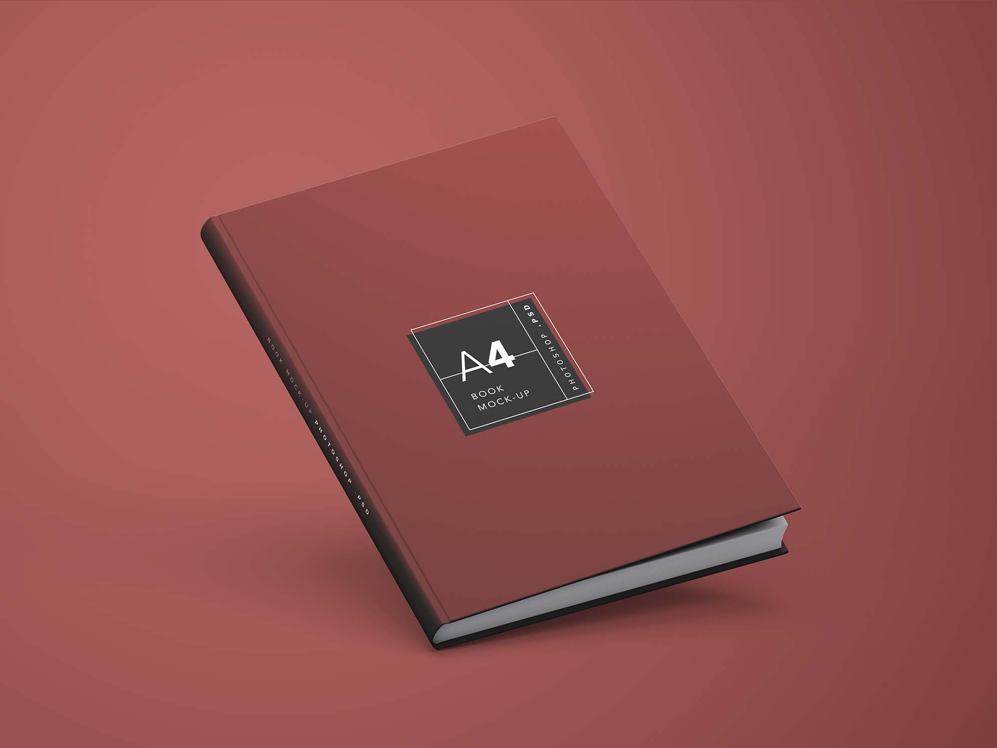 A4 Book Mockup 2