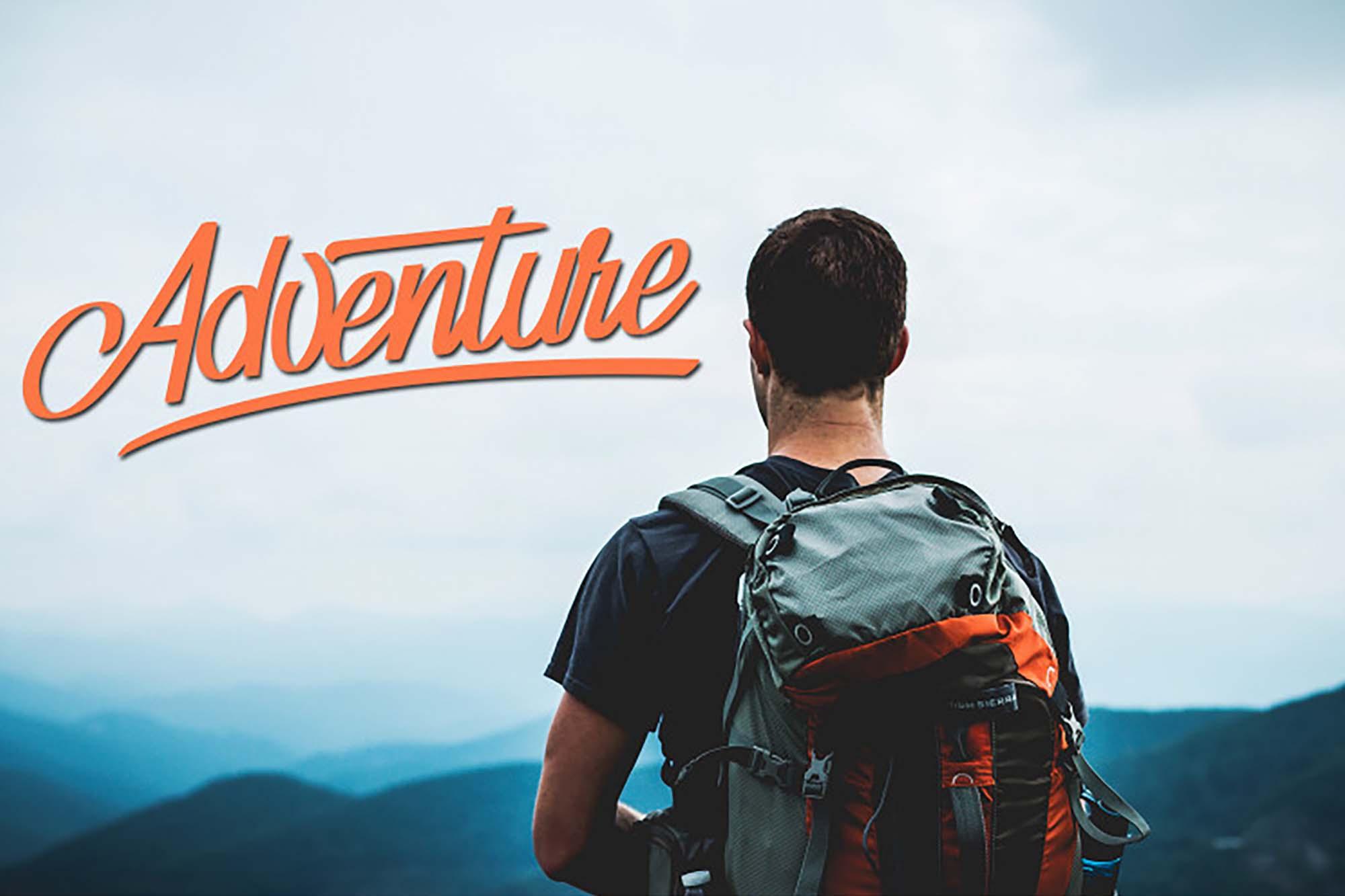 Adventure Script Font 3