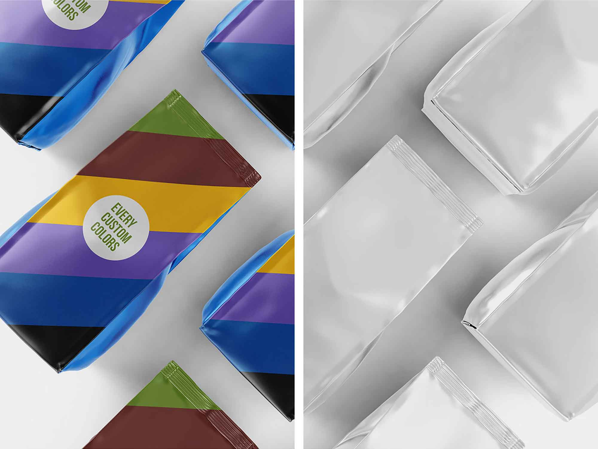 Aluminum Coffee Packaging Mockup 2
