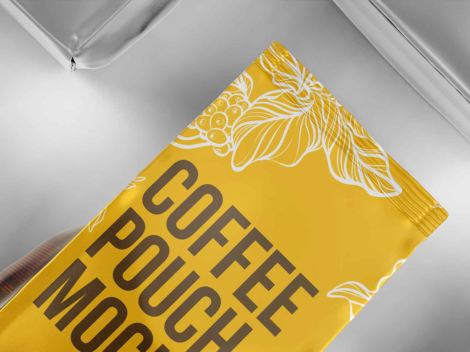 Aluminum Coffee Packaging Mockup 3