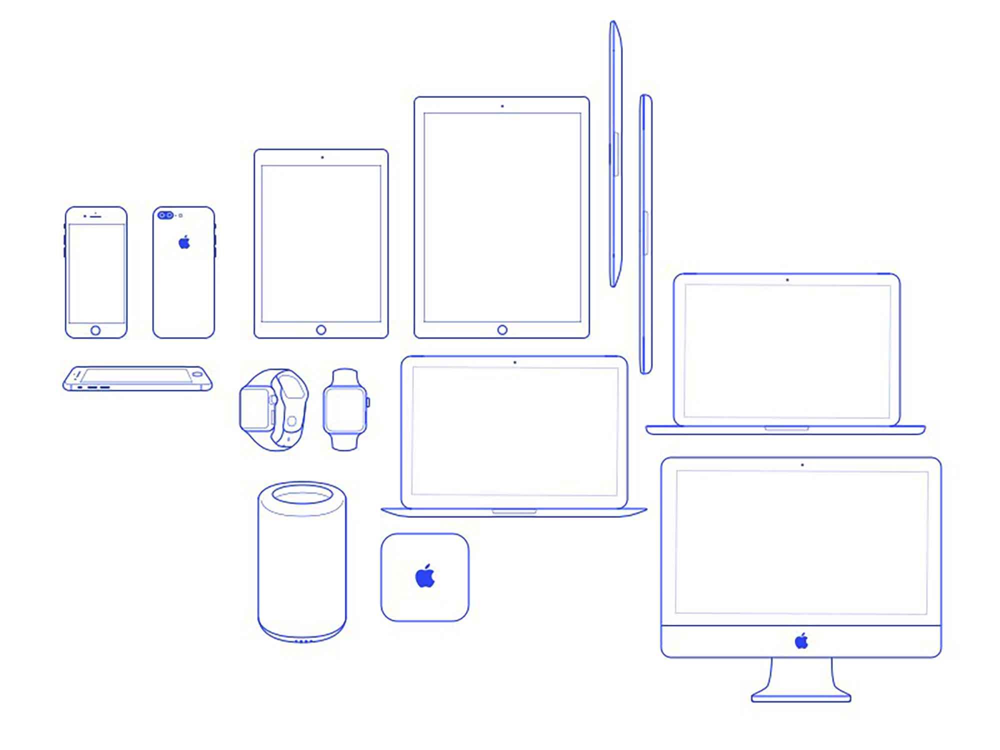 Apple Device Icons