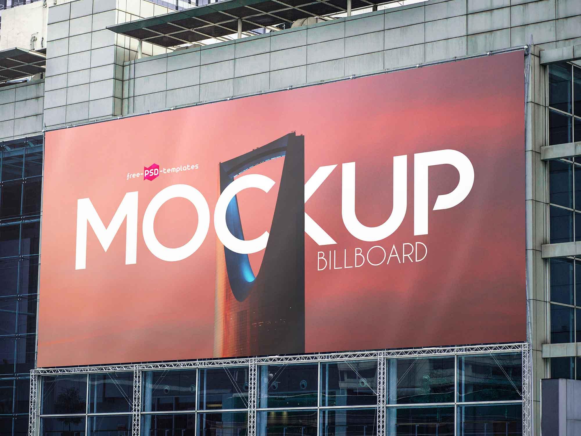 2 Free Billboard Mockups (PSD)