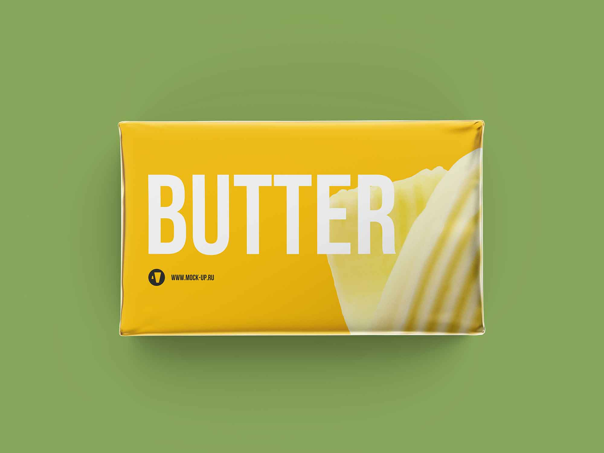 Butter Block Packaging Mockup 3