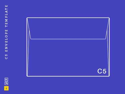 C5 Envelope Template