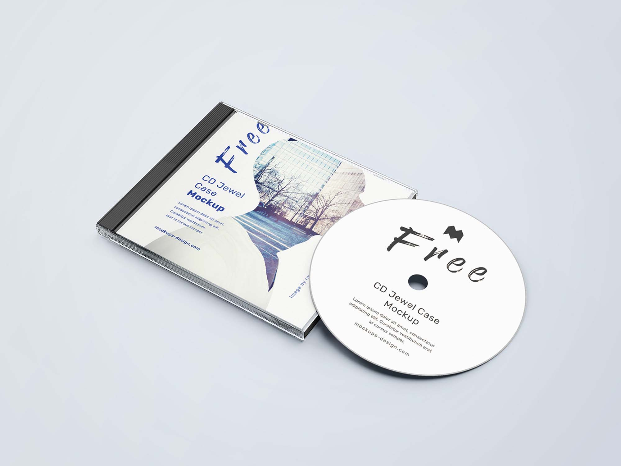 CD jewel Case Mockup 4