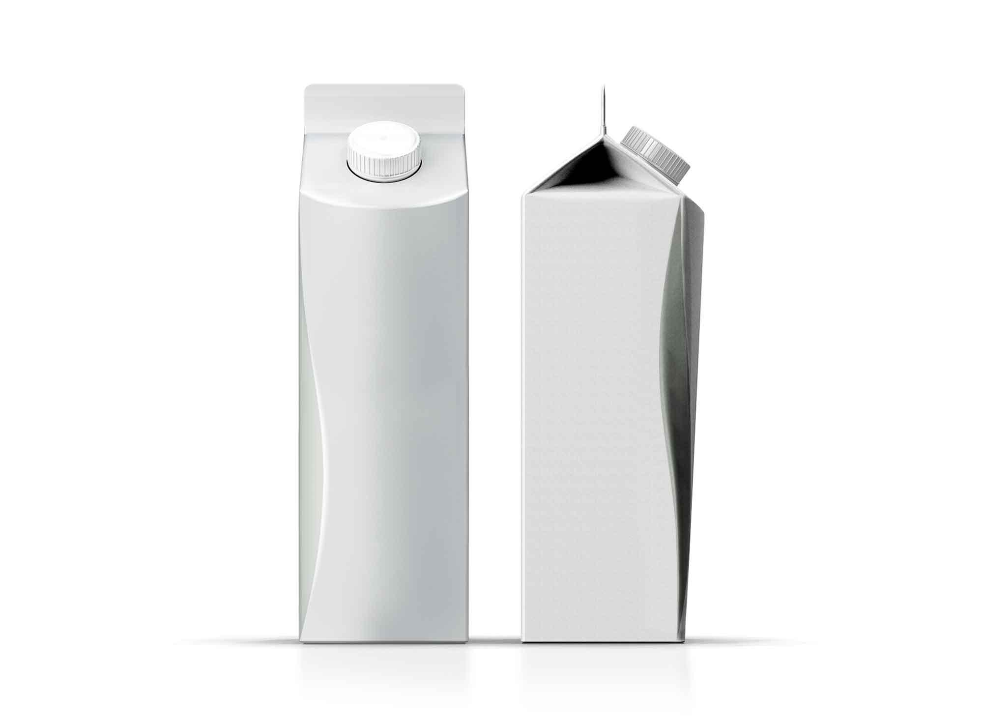 Carton Juice Box Mockup 3