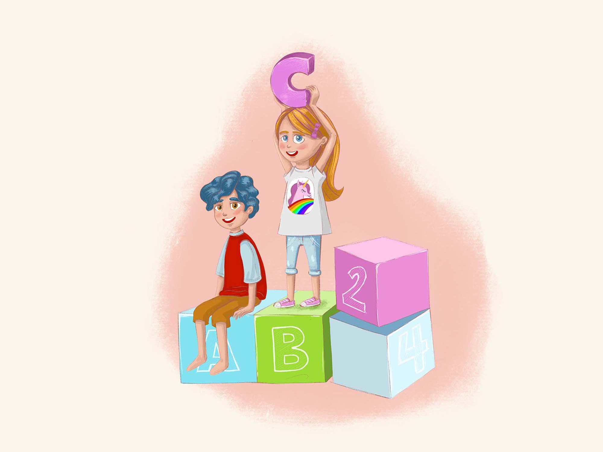 Children Education Illustration