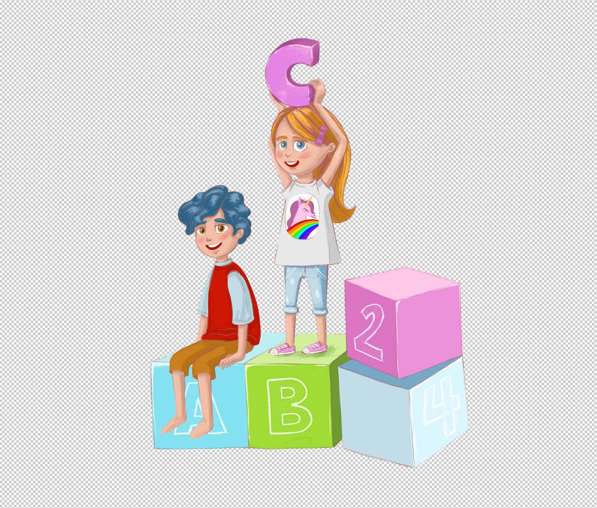 Children Education Illustration 1