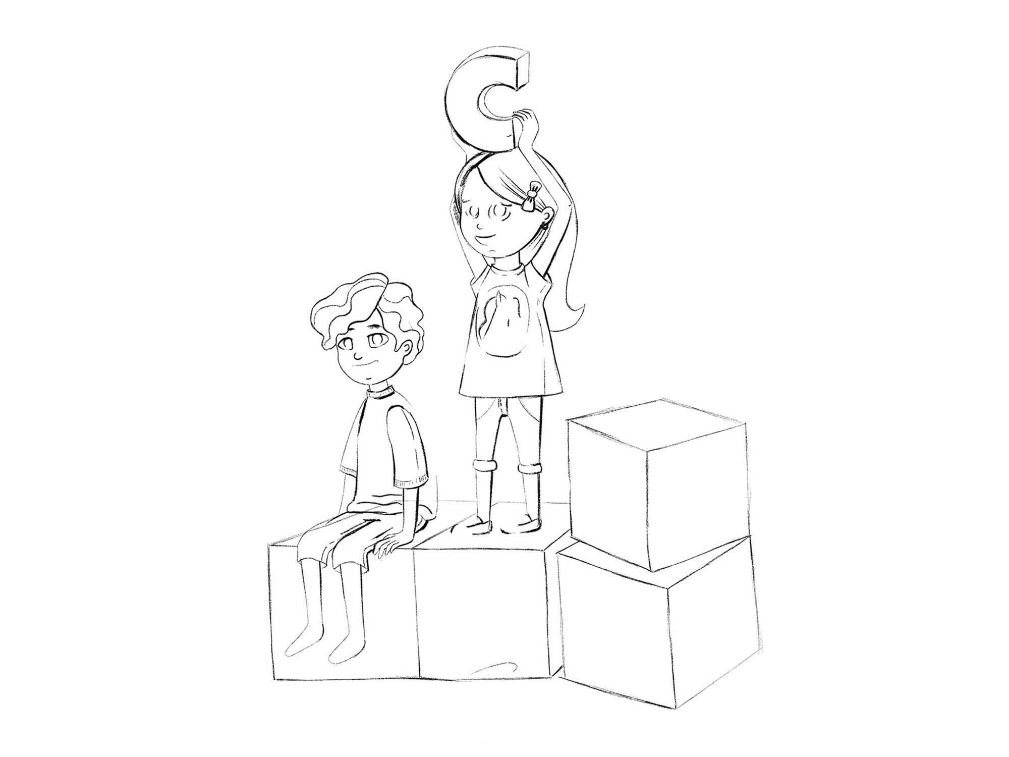 Children Education Illustration 2