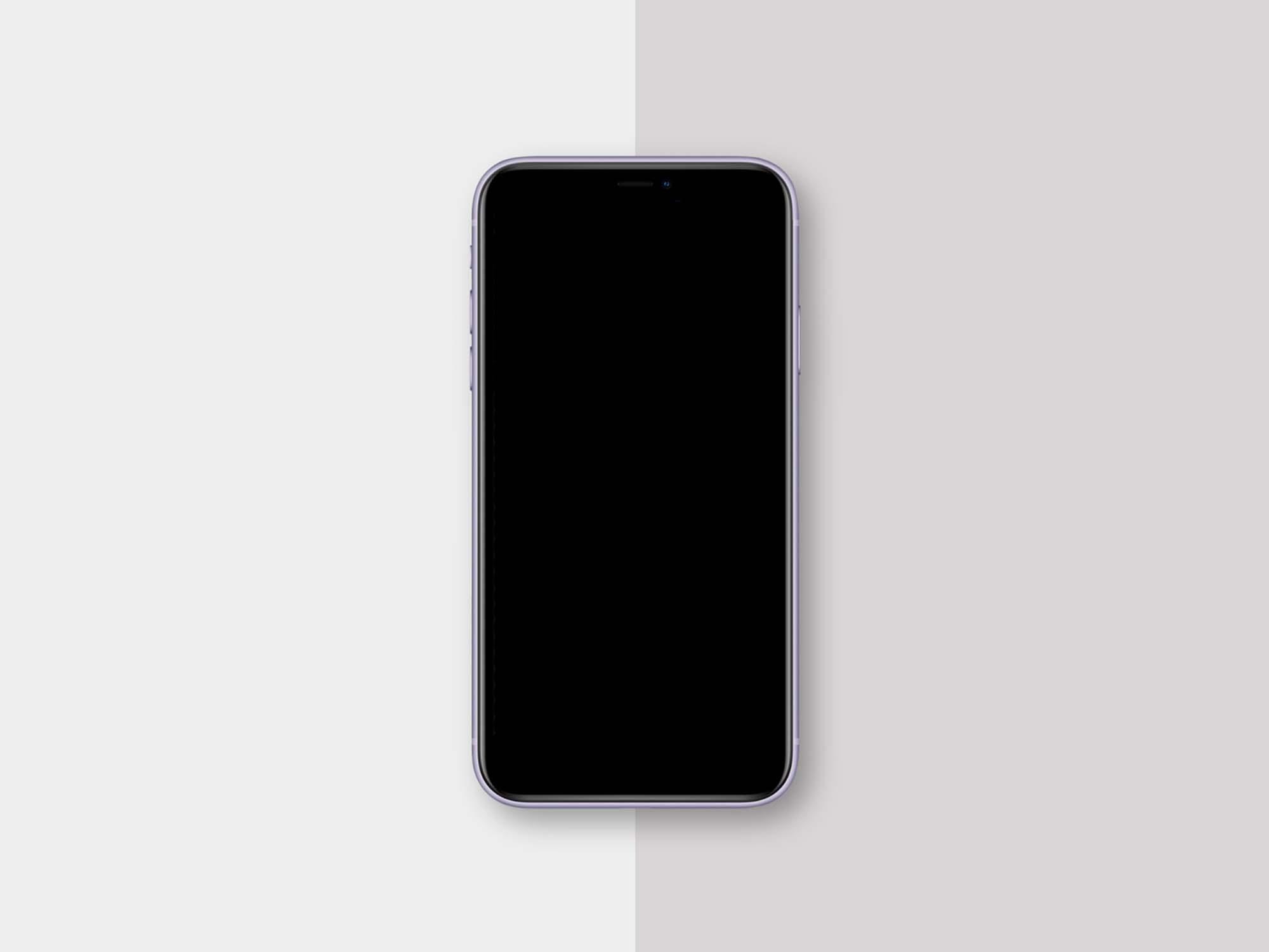 Classic iPhone 11 Mockup 2