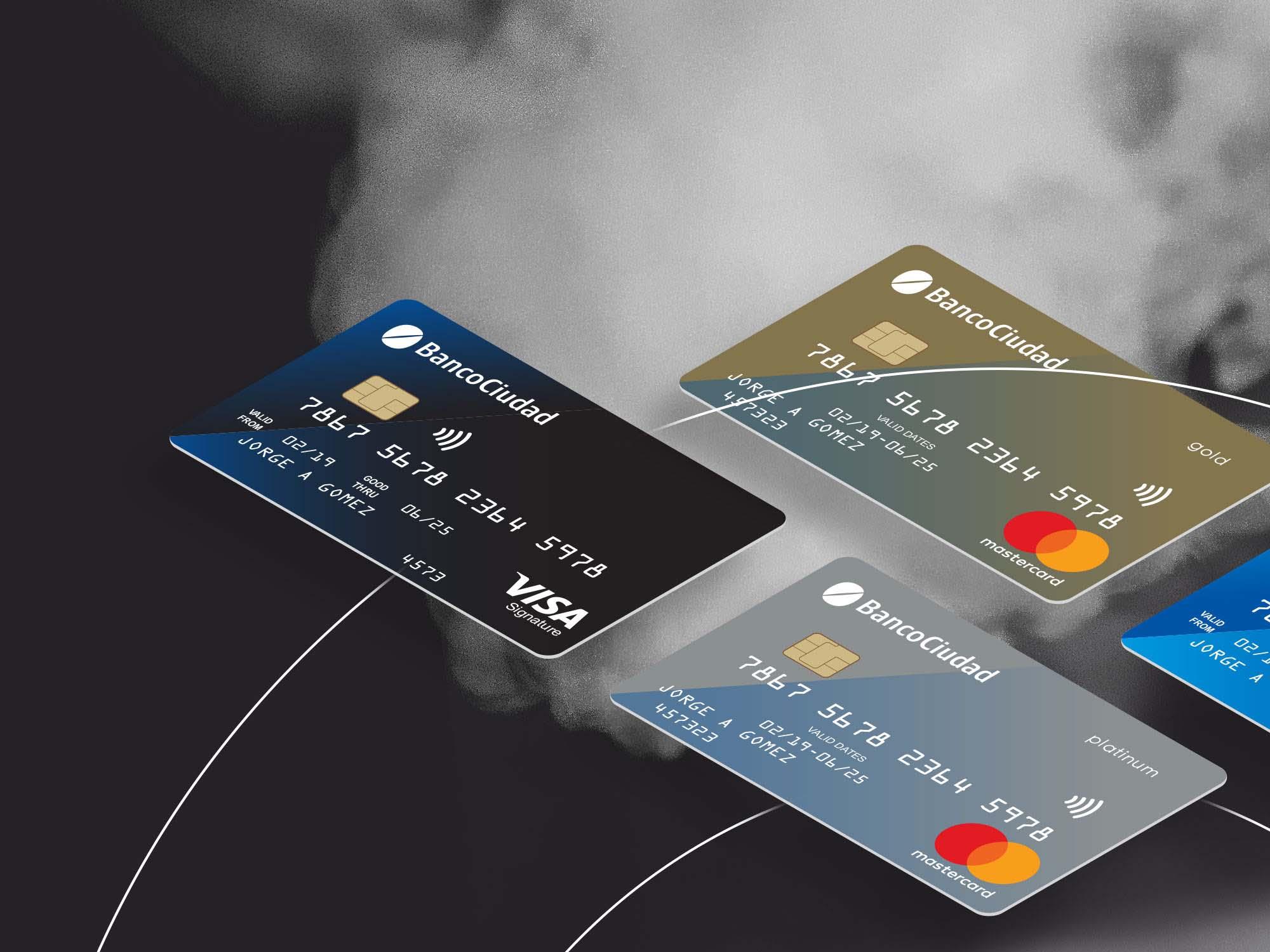 Contactless Credit Card Mockup