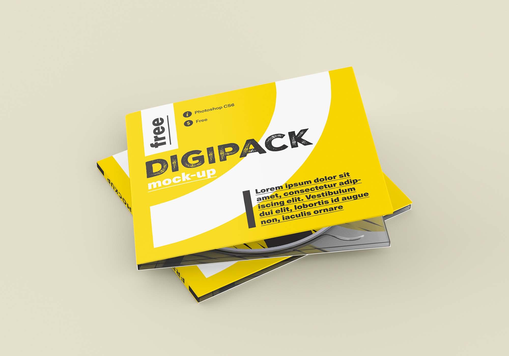 Digipack Mockup 4