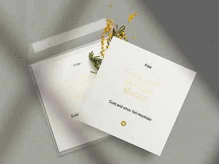 Envelope & Card Mockup