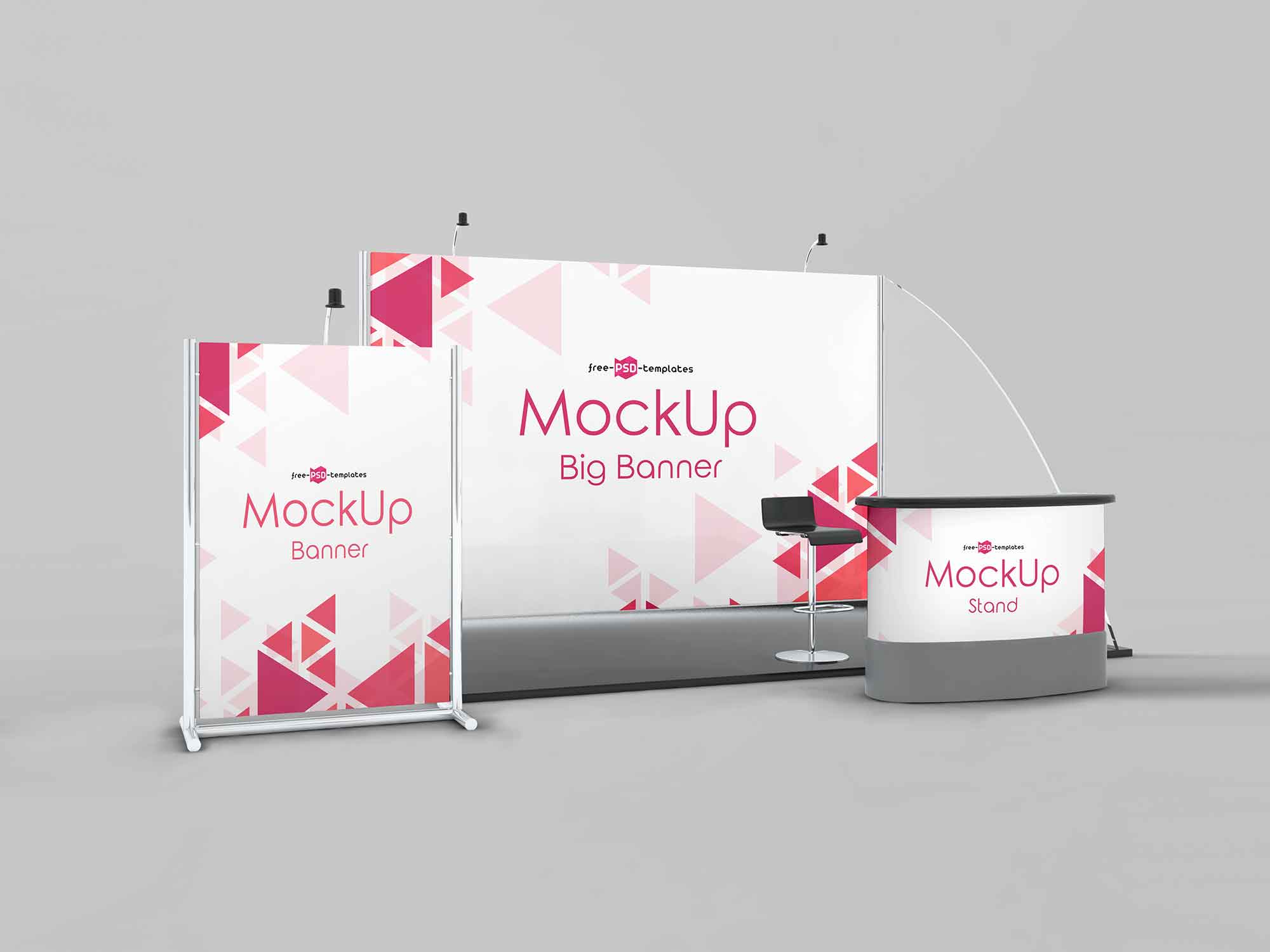 Exhibition Stand Mockup 2