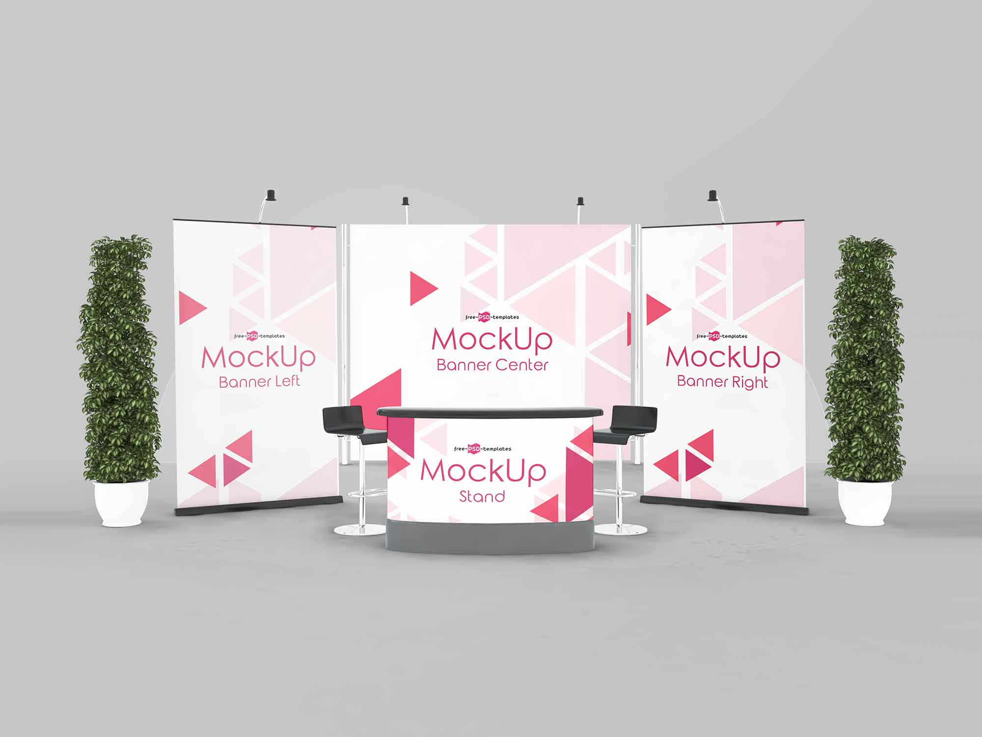 Exhibition Stand Mockup 3