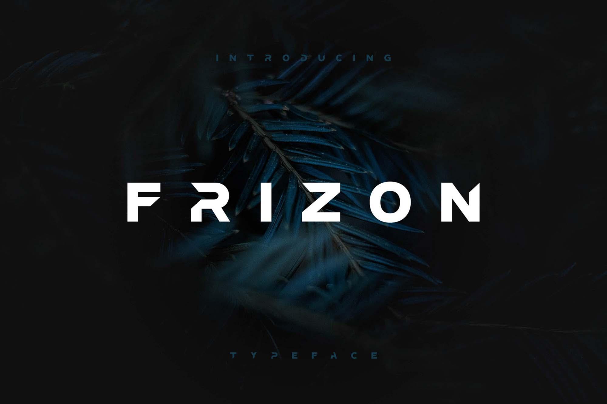 Frizon Display Typeface