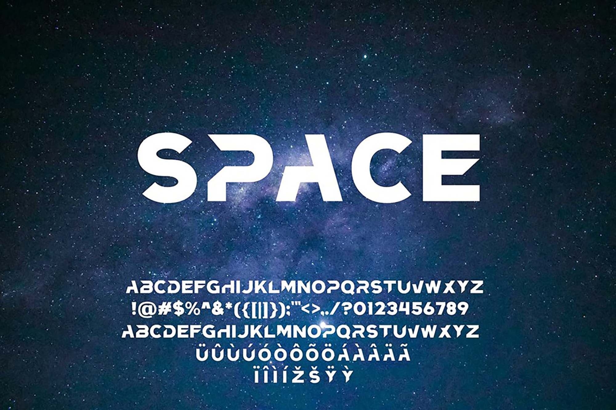 Frizon Display Typeface - Letters