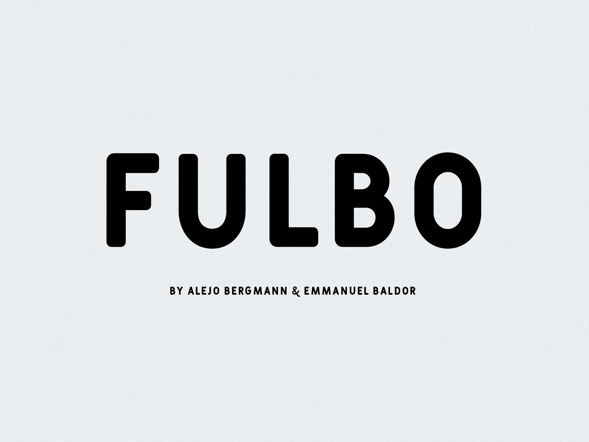 Fulbo Font