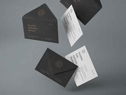 Gravity Invitation Mockup
