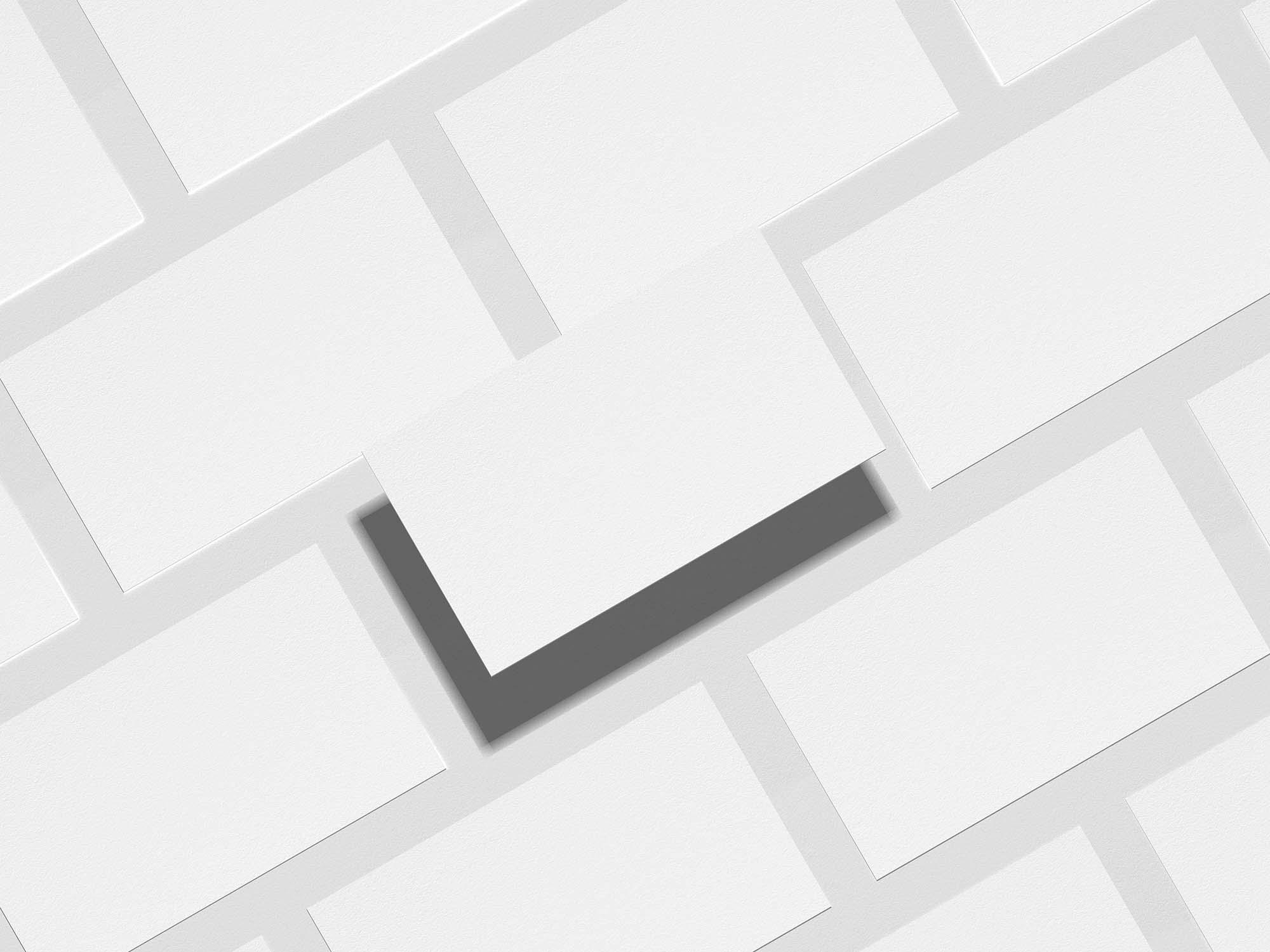 Grid Business Card Mockup 2