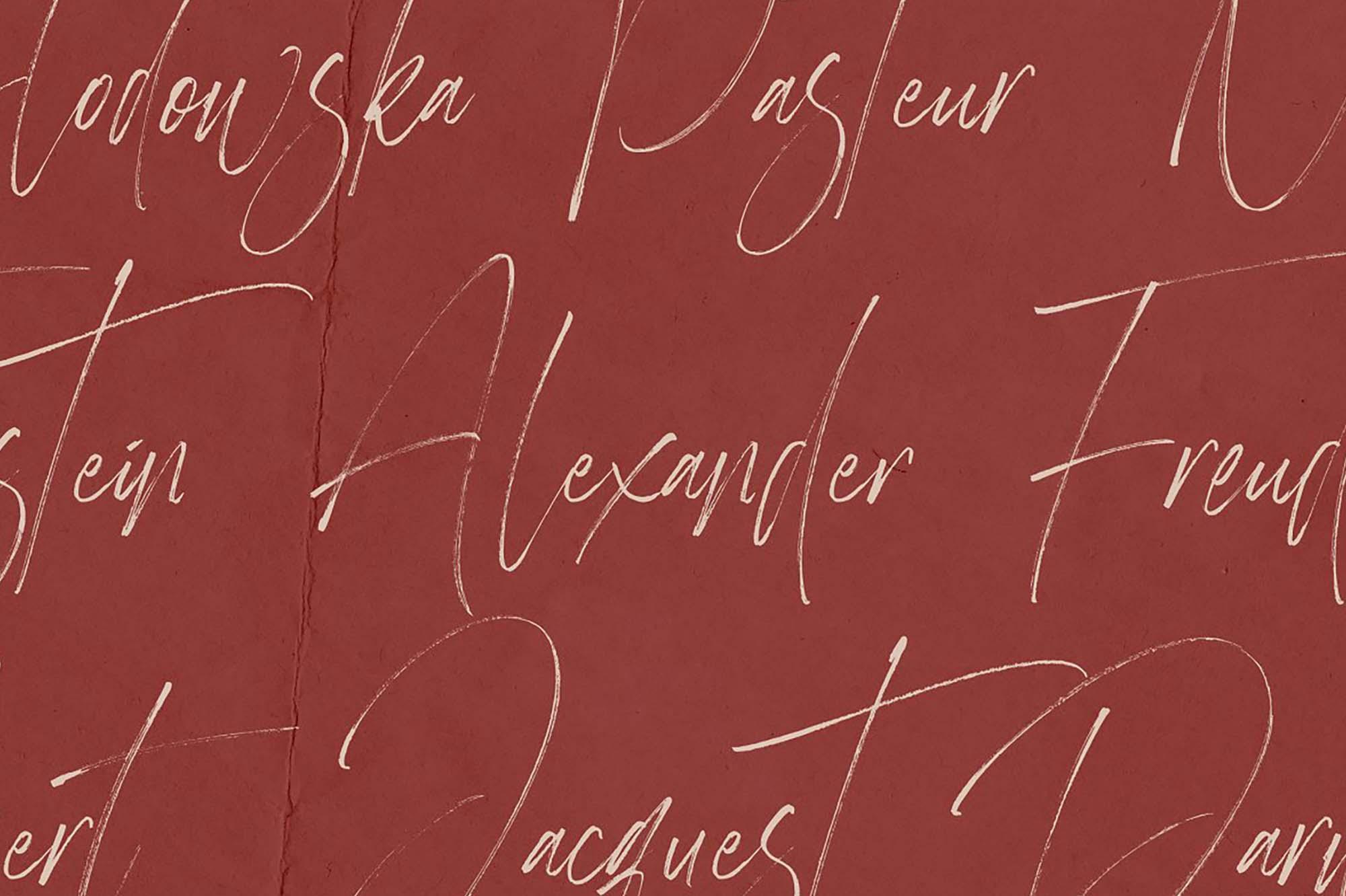 Heisenberg Signature Font 1