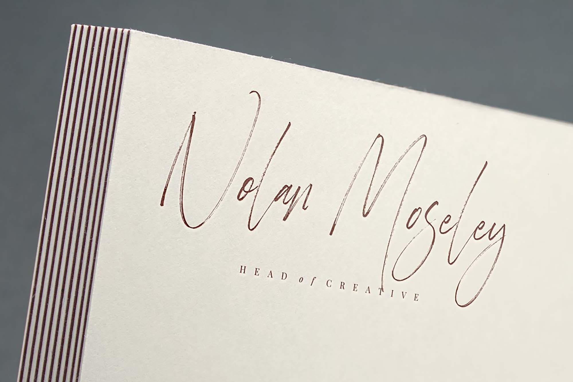 Heisenberg Signature Font 2