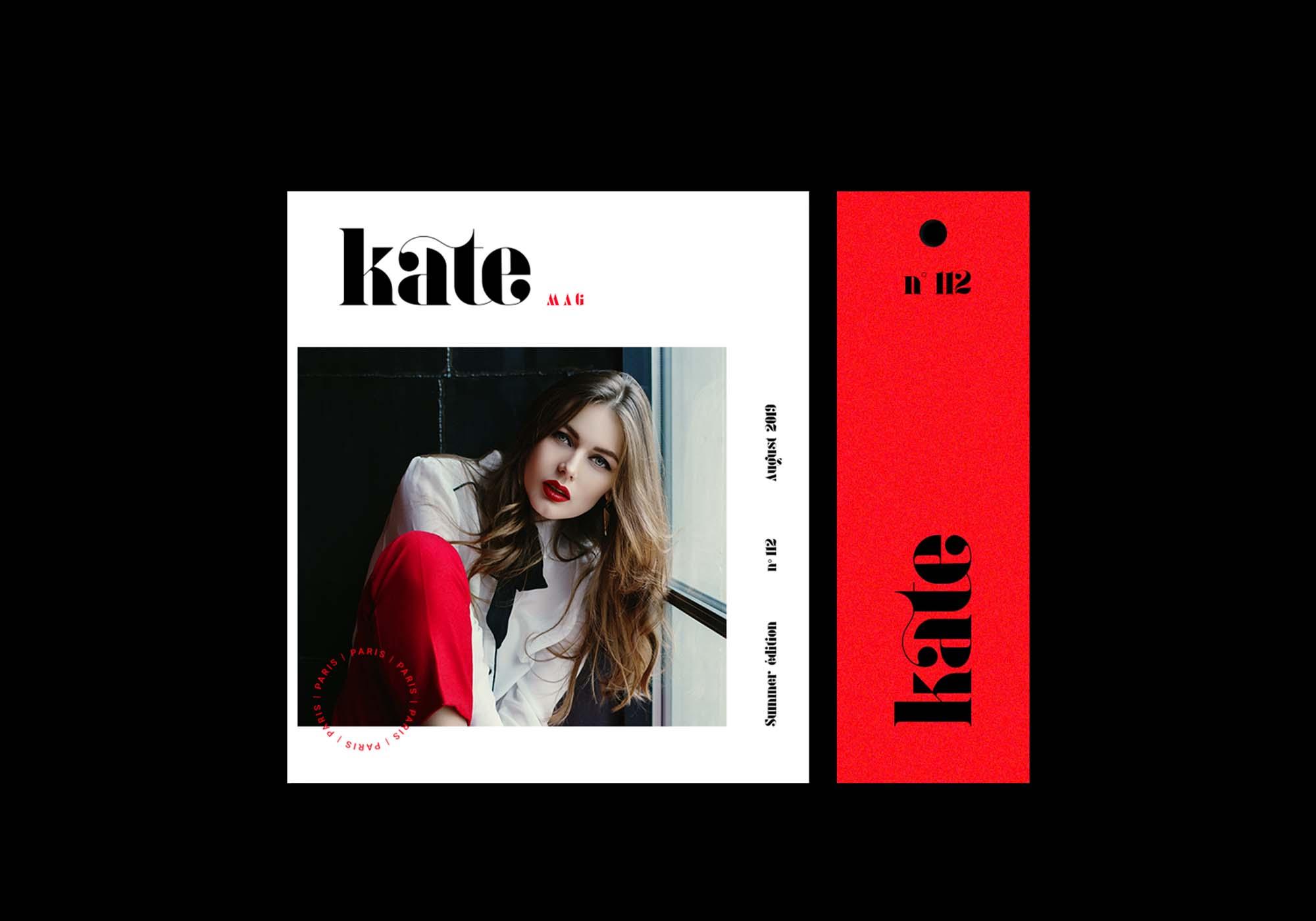 Kate Font Uses
