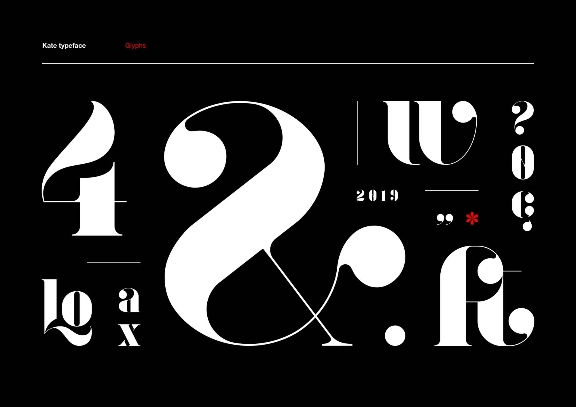 Kate Font Design
