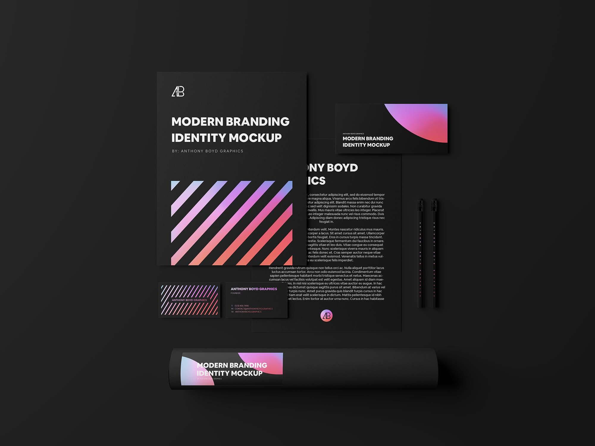 Modern Branding Identity Part 04