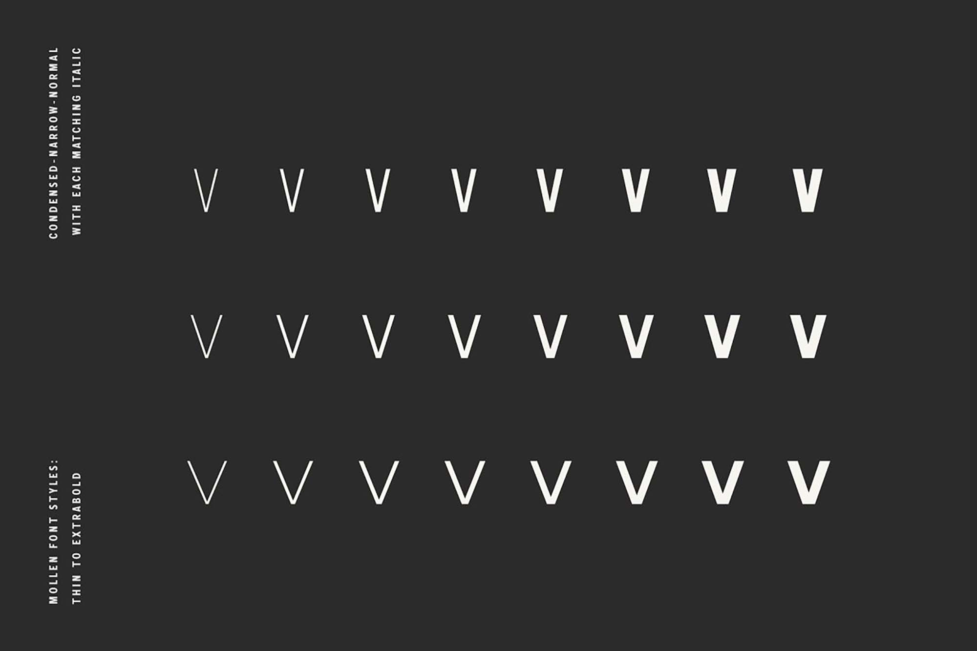 Mollen Sans Serif Font 2