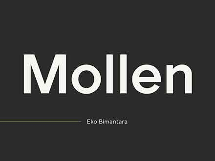 Mollen Sans Serif Font