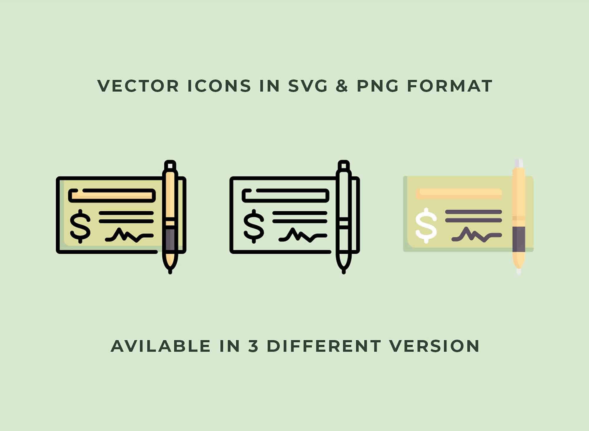 Money Vector Icons 3