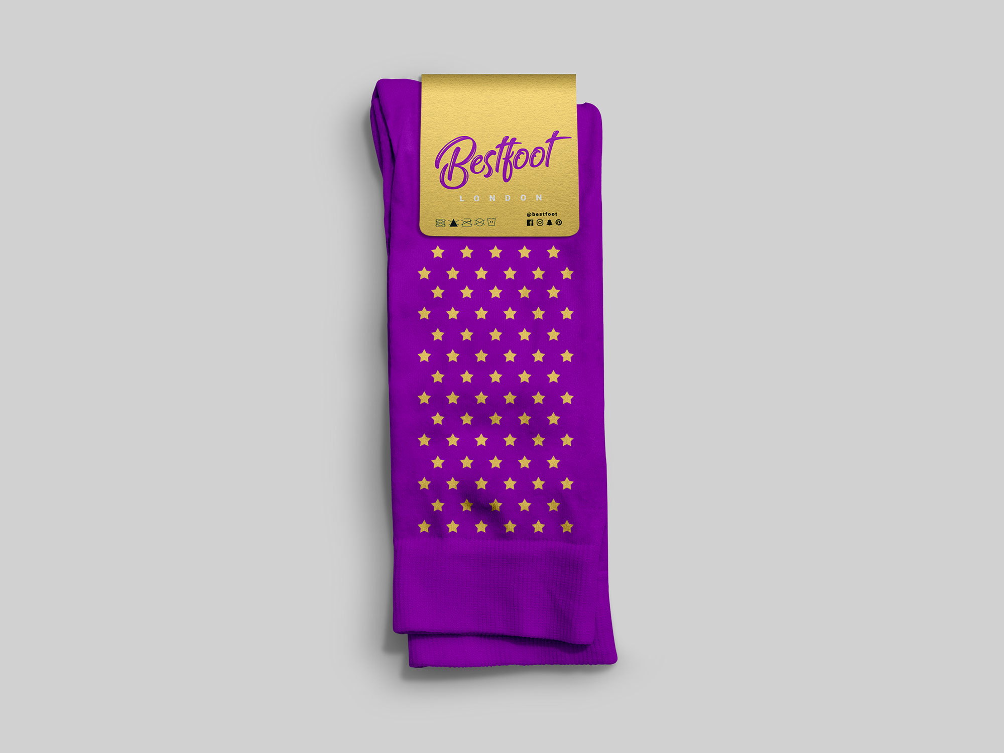 Pair of Socks Mockup