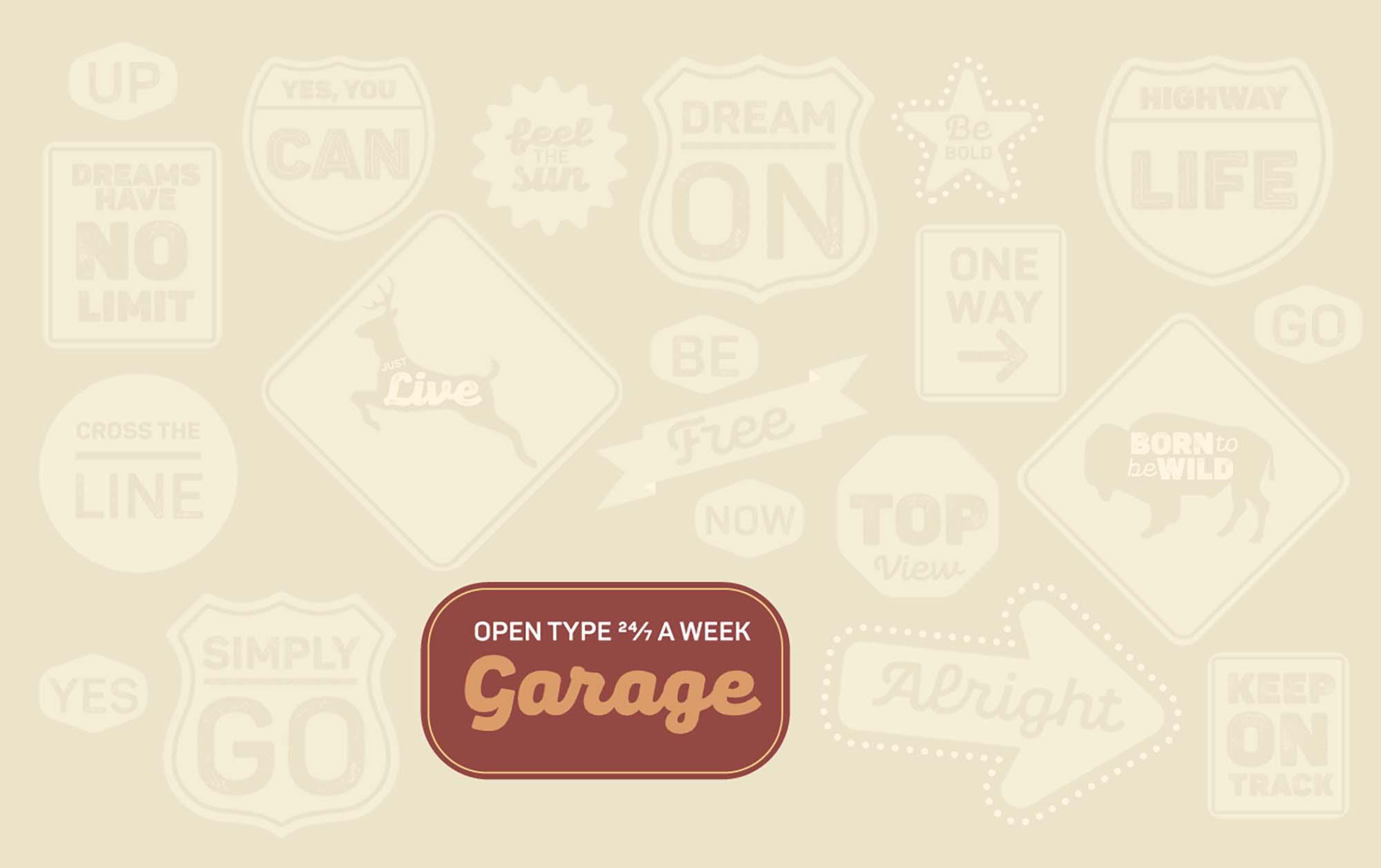 Pantone Rust Font 8