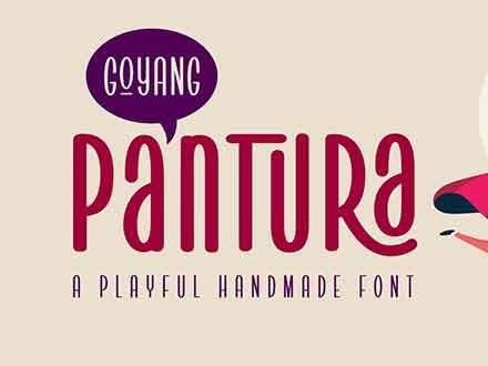 Pantura Font